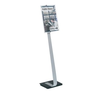 Tablica informacyjna CRYSTAL SIGN stand A3 /481923/