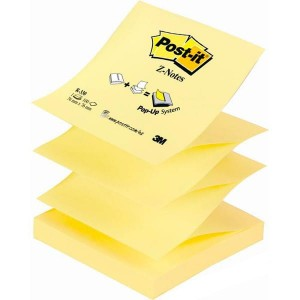 Notes samoprzylepny harmonijka Post-it 76x76mm /3M-70005288421/