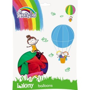 "BALON KOLOR PASTEL MIX 12"" 100szt"